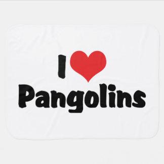 I Liebe-HerzPangolins - Pangolin-Liebhaber Puckdecke