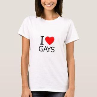 I Liebe-Homosexuelle T-Shirt