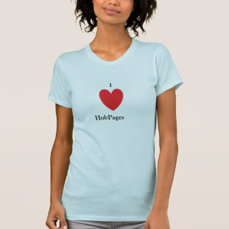 I Liebe HubPages Shirt