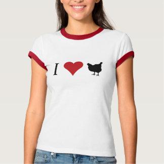 I Liebe-Hühner T-shirt