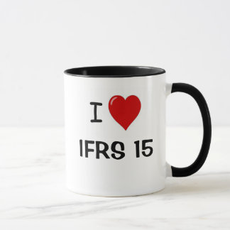 I Liebe IFRS 15 - i-Herz IFRS15 Tasse