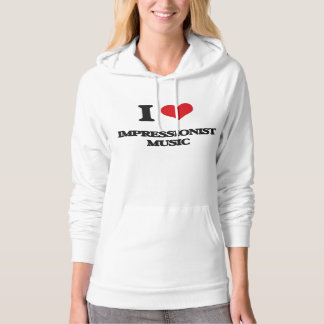 I Liebe IMPRESSIONIST-MUSIK Pullover