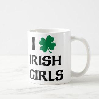 I Liebe-Iren-Mädchen Kaffeetasse