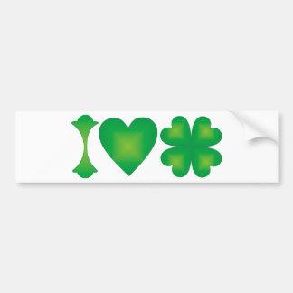 I Liebe Irland Autoaufkleber