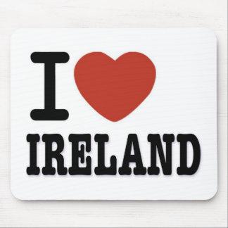I LIEBE IRLAND MAUSPAD