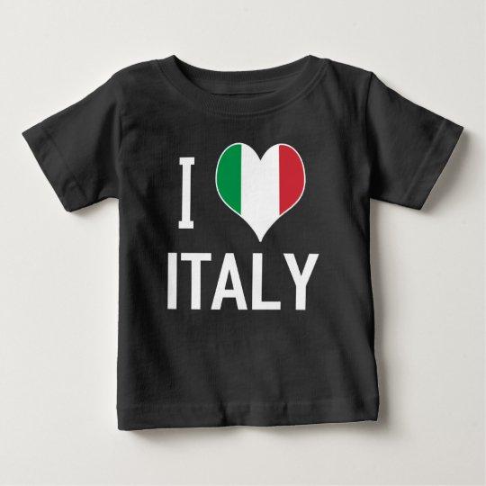 I LIEBE ITALIEN BABY T-SHIRT