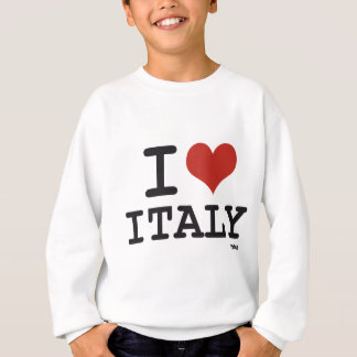 I LIEBE ITALIEN SWEATSHIRT