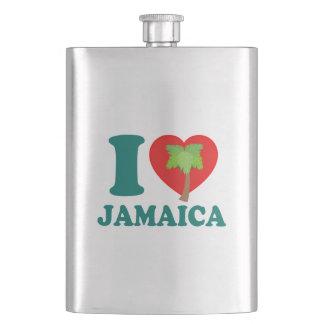 I Liebe Jamaika Flachmann