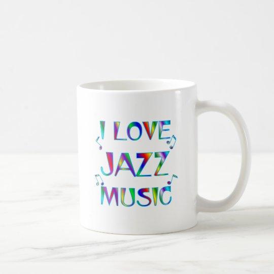 I Liebe-Jazz Kaffeetasse