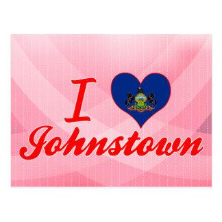 I Liebe Johnstown, Pennsylvania Postkarte