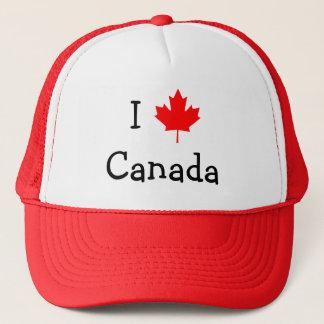 I Liebe-Kanada-Hut Truckerkappe