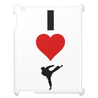 I Liebe-Karate (vertikal) iPad Hülle