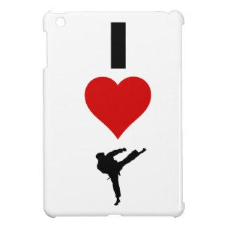 I Liebe-Karate (vertikal) iPad Mini Hülle