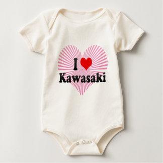 I Liebe Kawasaki, Japan Baby Strampler