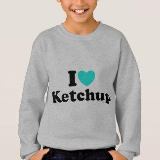 I Liebe-Ketschup Sweatshirt