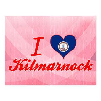 I Liebe Kilmarnock, Virginia Postkarte