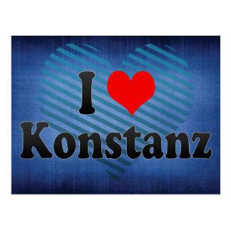 I Liebe Konstanz, Deutschland Postkarte