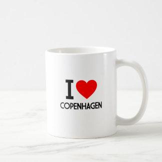 I Liebe Kopenhagen Kaffeetasse