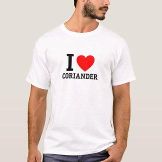 I Liebe-Koriander T-Shirt