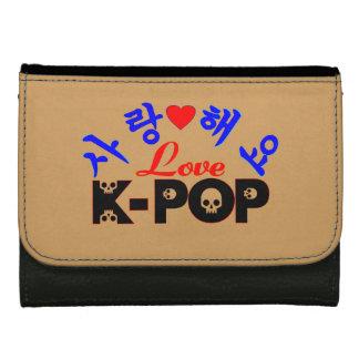 ♪♥I Liebe KPop fabelhaftes mittleres ledernes