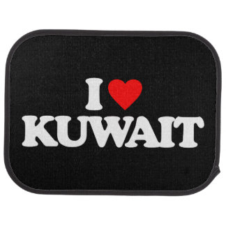 I LIEBE KUWAIT AUTOFUßMATTE