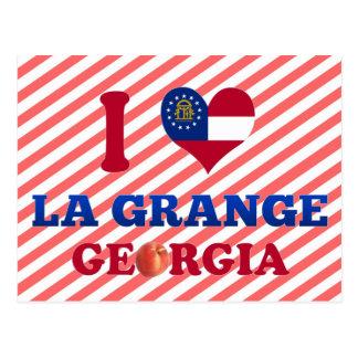 I Liebe-La-Gutshof, Georgia Postkarte