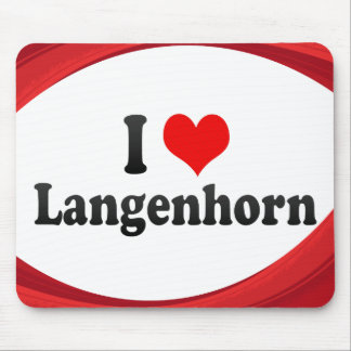 I Liebe Langenhorn, Deutschland Mauspad