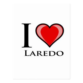 I Liebe Laredo Postkarte
