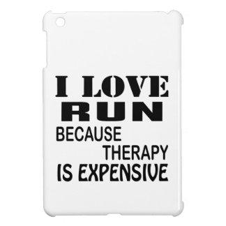 I Liebe laufen gelassen, weil Therapie teuer ist iPad Mini Cover