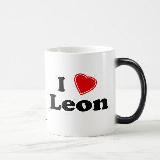 I Liebe Leon Verwandlungstasse