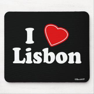 I Liebe Lissabon Mousepads