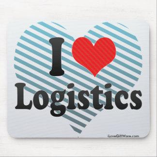I Liebe-Logistik Mauspads