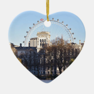 I Liebe London! Keramik Ornament