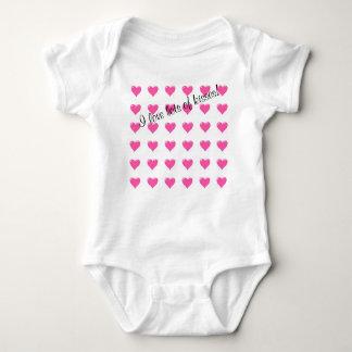 I Liebe-Lose des Kuss-Baby-T - Shirt