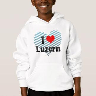 I Liebe Luzern, die Schweiz Hoodie