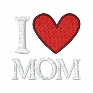 I Liebe-Mamma gestickt Poloshirt
