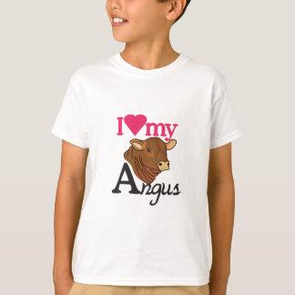 I Liebe mein Angus T-Shirt