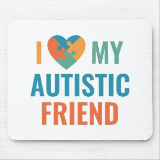 I Liebe mein autistischer Freund Mauspads
