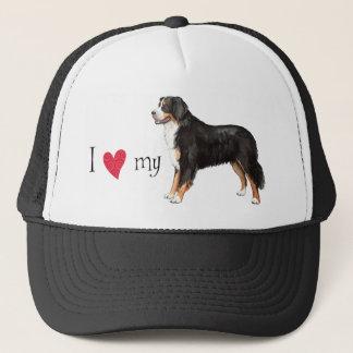 I Liebe mein Bernese Gebirgshund Truckerkappe
