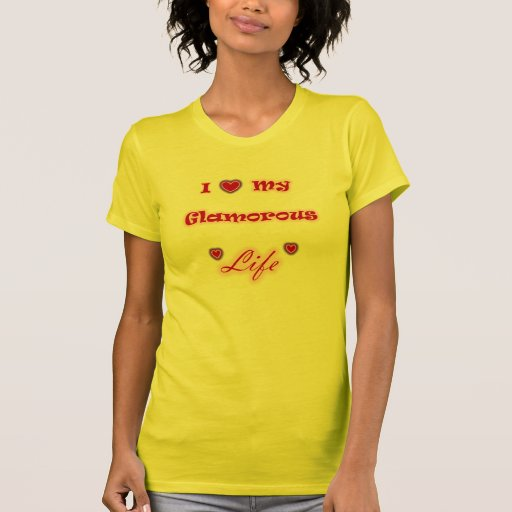 I Liebe mein bezaubernder Leben-Herz-T - Shirt
