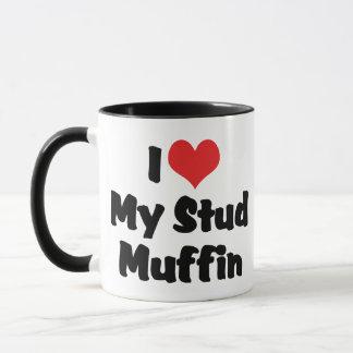 I Liebe mein Bolzen-Muffin Tasse