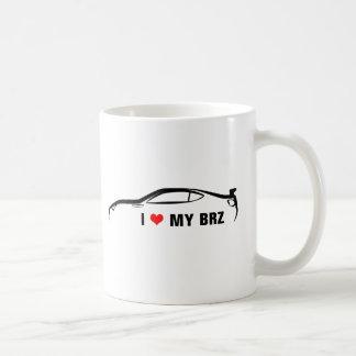 I Liebe mein BRZ Kaffeetasse