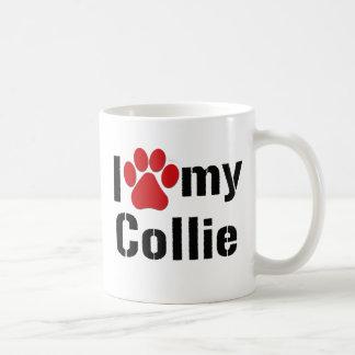 I Liebe mein Collie Kaffeetasse