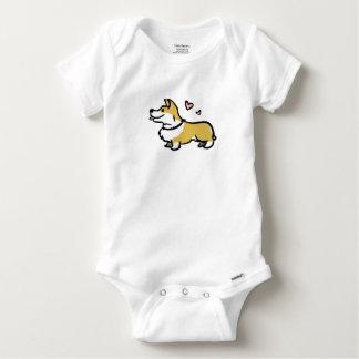 I Liebe mein Corgi-Baby Baby Strampler