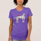I Liebe mein Dalmatiner T-Shirt