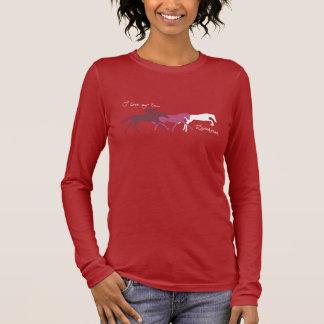 I Liebe mein ex Rennpferd Langarm T-Shirt