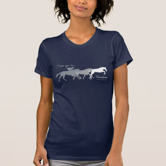I Liebe mein ex Rennpferd T-Shirt