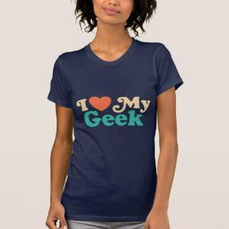 I Liebe mein Geek T-Shirt