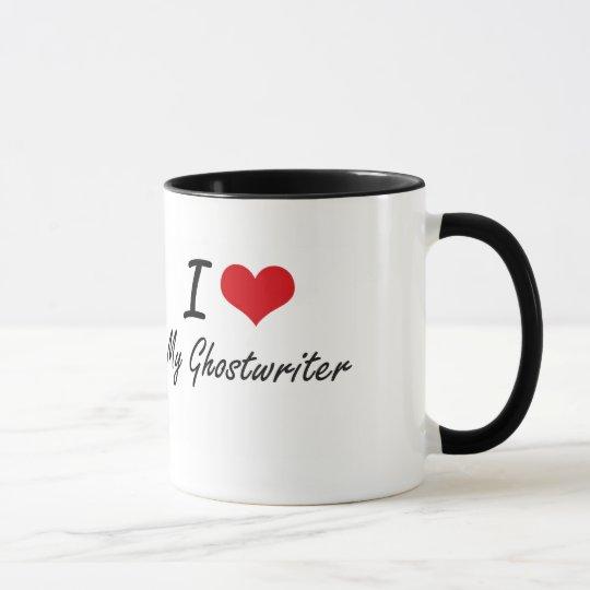 I Liebe mein Ghostwriter Tasse