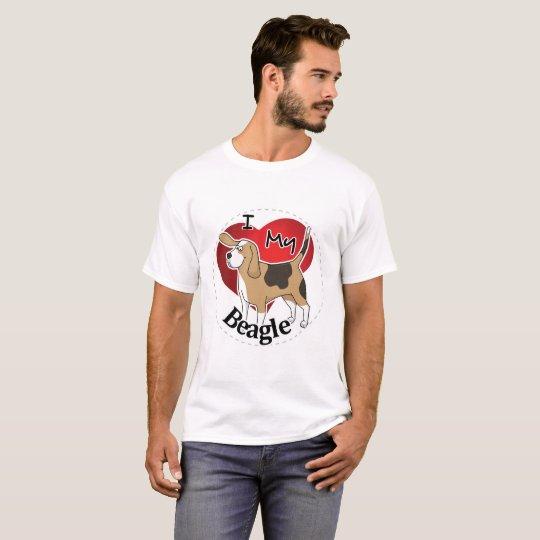 I Liebe mein glücklicher entzückender lustiger u. T-Shirt